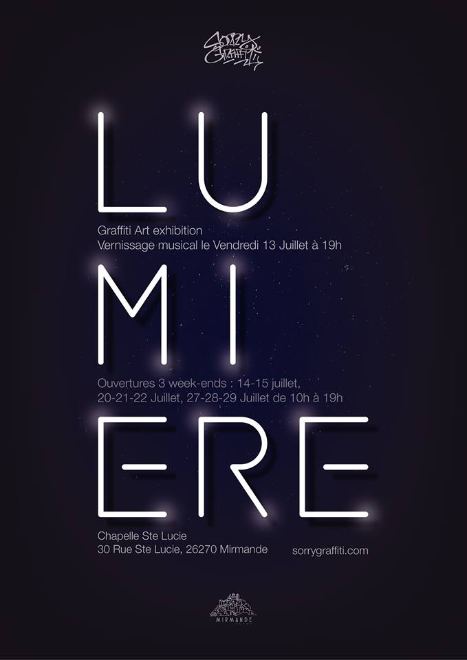 """Exposition """"LUMIERE"""""""