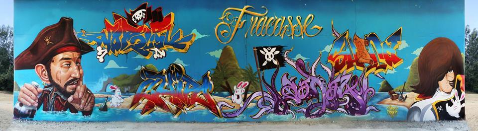 "Fresque ""FRACASSE"""