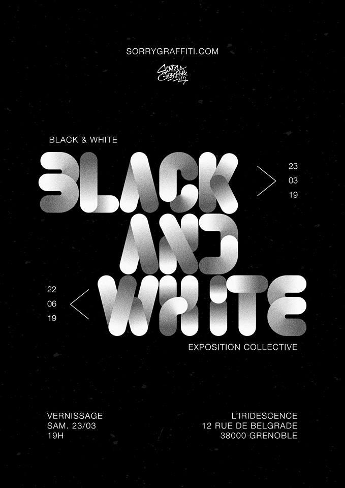 """Exposition """"Black & White"""" #2."""