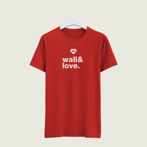 T-shirt Wall&Love par Groek